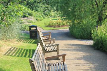 Scene - Park Bench