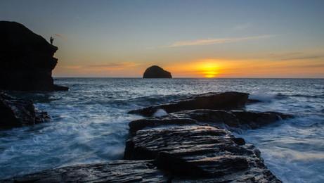 Seascape - Gull Rock
