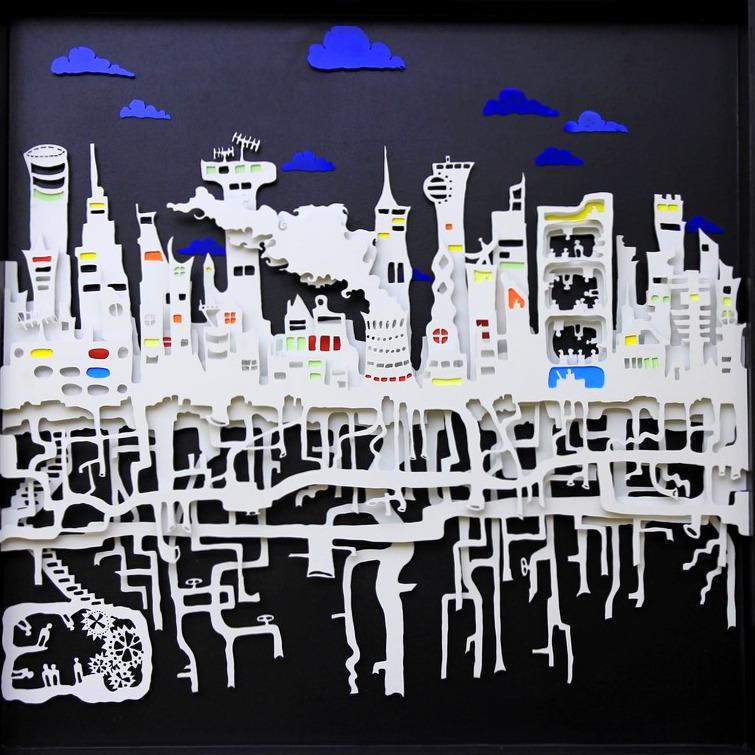 Les racines de la ville- vu le jour