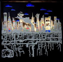 Les racines de la ville- Cut Art 3D