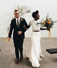 Happy Couple Micro Wedding