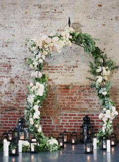 Industrial chic tiny wedding