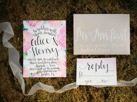 Invitations without any of the time consuming planning