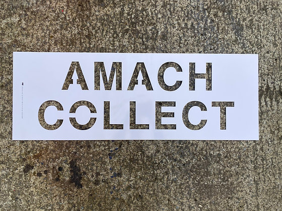 Large Amach/Collect Stencil