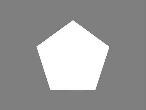 Pentagon stencil