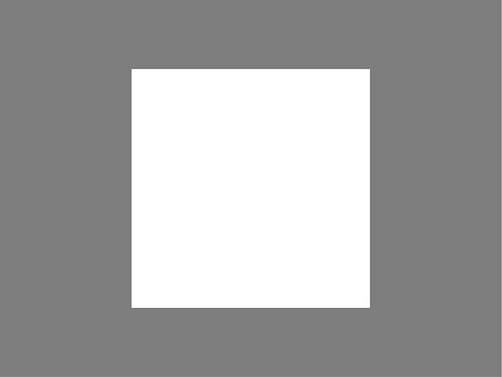 Square stencil