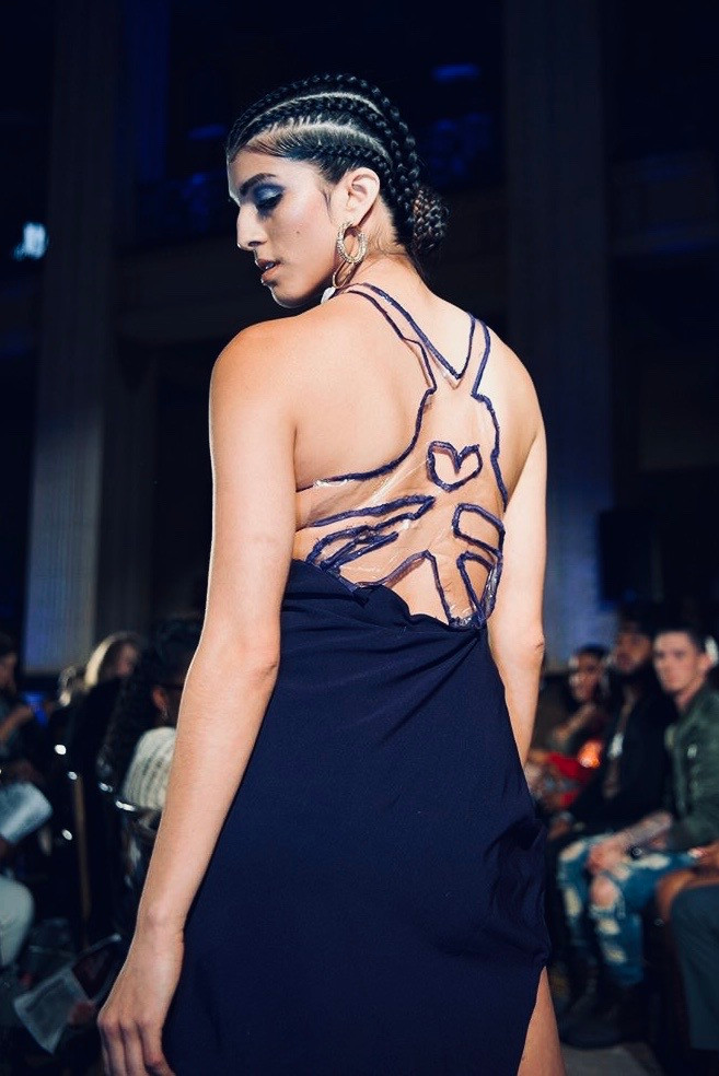 Look 6: The Socialite (Back Detail)