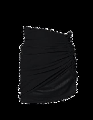 Hand-Gathered Stretch Skirt