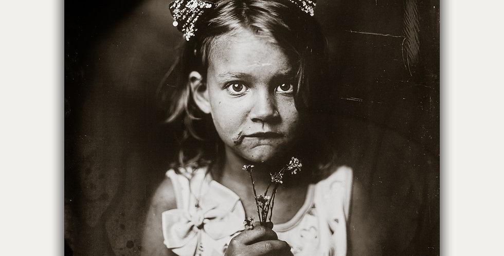 8X10 Pop-Up Tintype Portrait