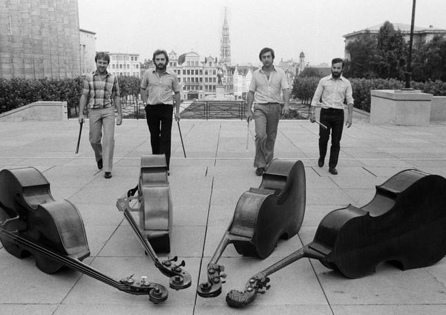 Quatuor de Contrebasses de Bruxelles