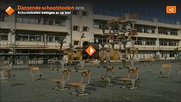 Swingende schoolstoelen