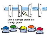 Plankjes verven