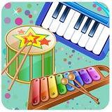Kinderen muziekinstrumenten