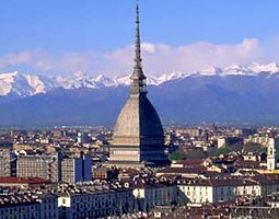 First capital of Italy, Torino is the town of Fiat car manufacter, Juventus football team and theTorino 20th Olympic Winter Games.