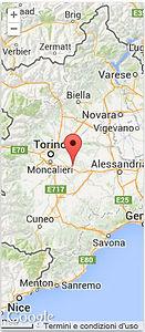 Directions to reach B&B L'Armonia in Monferrato, Piedmont