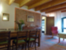 Salotto dell'appartamento in affitto a bed and breakfast