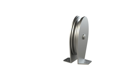 Wall-Mounted Pulley