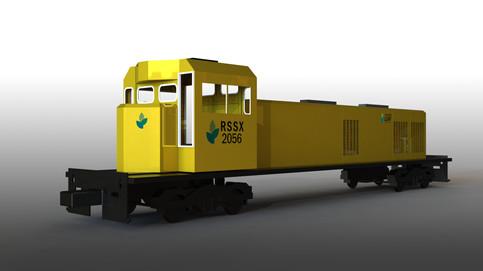 Assembled Locomotive