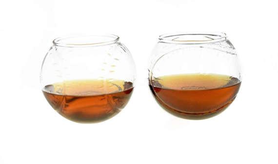 Baseball Whiskey Glasses