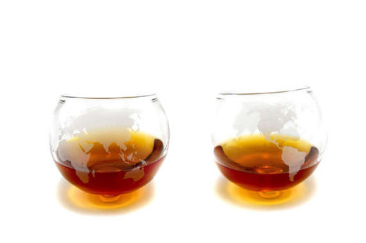 Rocking Whiskey Glasses