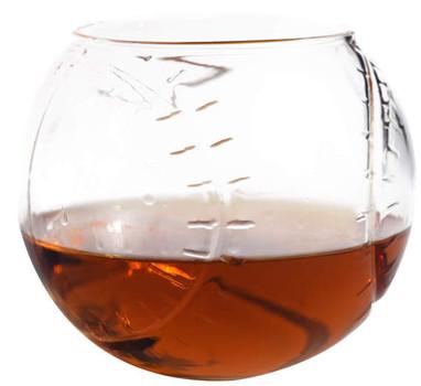 Baseball Whiskey Glass