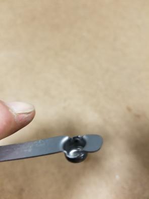 Custom Button Spring Clip