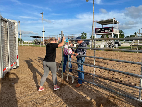 6-7-21 Getting ready for Horsemanship Bible Camp
