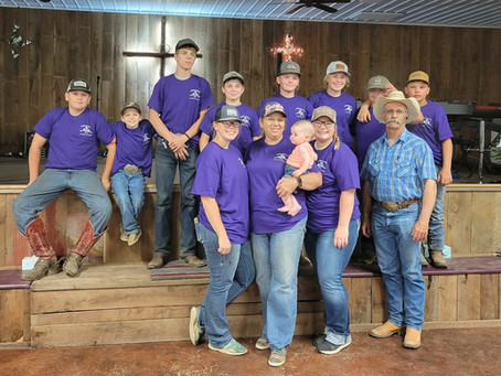 6-11-21 Horsemanship Bible Camp Day 3
