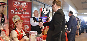 Farrells Ice Cream Parlour recruiters at the Hospitality Career Expo