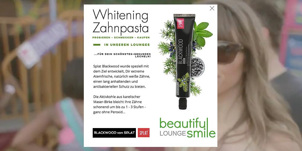 Ab sofort erhältst Du aktuelle NEWS über unsere qualitativ sehr hochwertige Zahnpflegeprodukte.