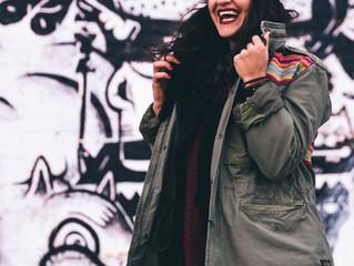 Mit einem strahlendem Lächeln durchs Leben...
