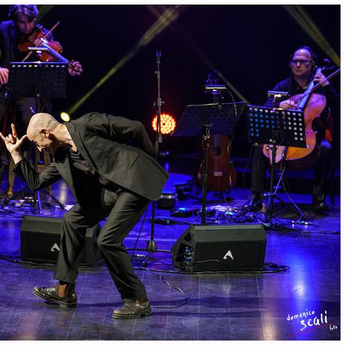 Roccella Jazz Festival winter edition 2017 Peppe Servillo e Solis String Quartet