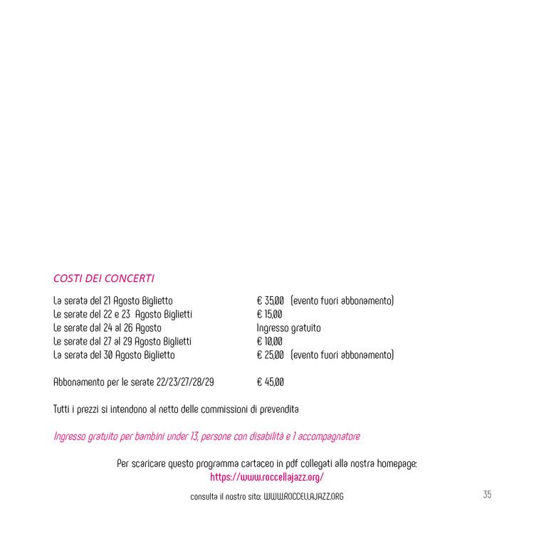 RJF Rumori Mediterranei 2020 programma