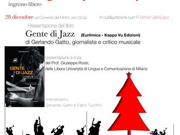 """Presentazione del libro """"Gente di jazz"""""""