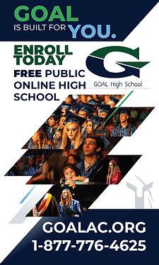 GOAL High School 279 S Purcell Blvd #112 & #114 Pueblo West, CO 81007 1-877-776-4625 www.goalac.org