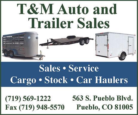 T & M AUTO & TRAILER SALES 563 S Pueblo Blvd Pueblo, CO 81005 719-569-1222