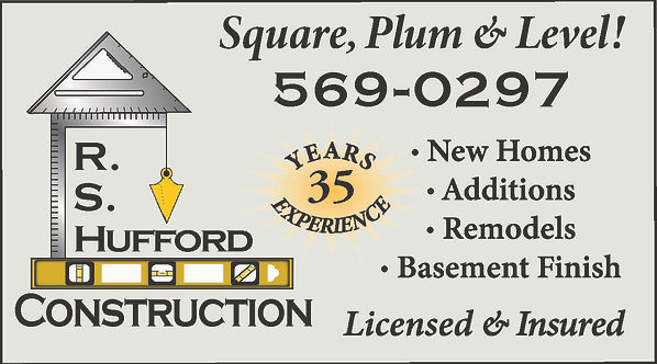 RS Hufford Construction  Pueblo West, CO 81007 719-569-0297