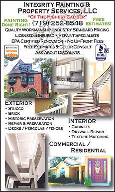 Integrity Painting & Property Services Pueblo West, CO 81007 719-252-8548
