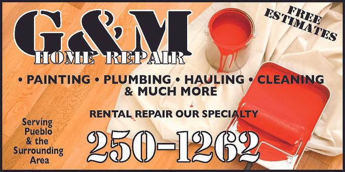 G&M Home Repair Pueblo West, CO 81007  719-250-1262