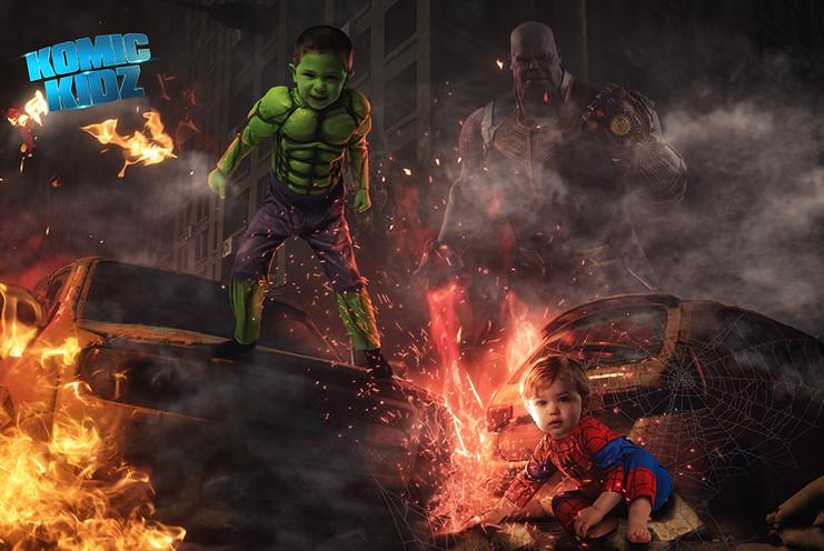 Hulk Komic Kid