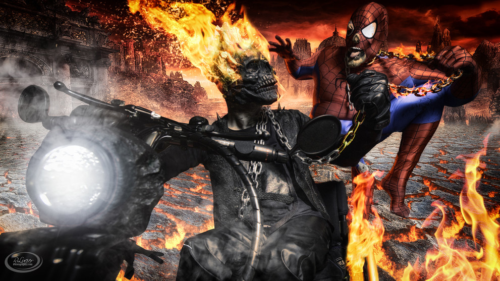 Ghost Rider and Spiderman.jpg