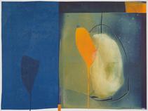 collage de monotypes sur papier de Chine marouflés sur papier Alamigeon 30 x 40 cm 2020