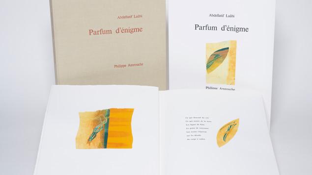 PARFUM D'ÉNIGME avec Abdellatif Laâbi