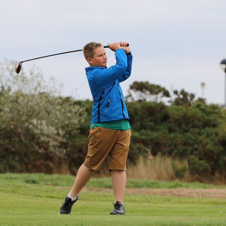 Young Golfer Ciaran Clark hosting his first golf day this December!