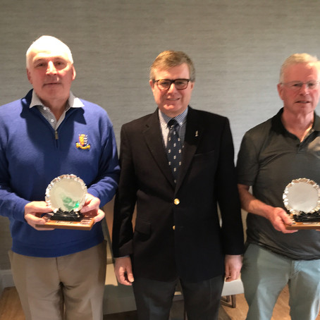 Seniors Texas Scramble Winners