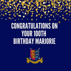 Marjorie Allen turned 100!