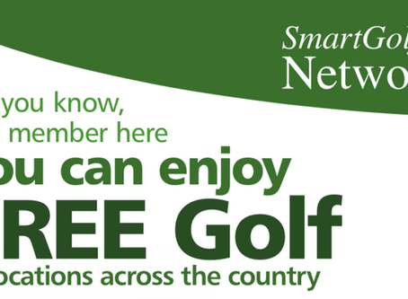 Are you making the most of your membership benefits? Did you know you can enjoy free golf?