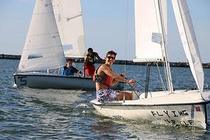 Boy Sailing