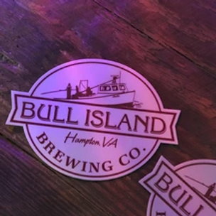 Bull Island Brewing Sticker