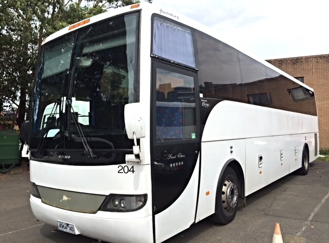 Volvo 50 seats Coach